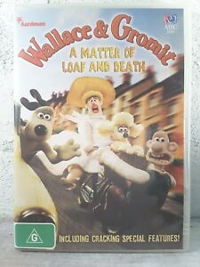 Wallace And Gromit DVD - A Matter Of Loaf And Death, RARE Region 4