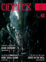 USED â‹Cinefex No.46 Edition Book Alien: Covenant Ghost in the Shell Magazine