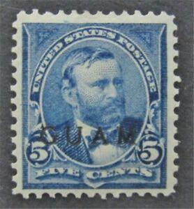 nystamps US Guam Stamp # 5 Mint OG H $33   L30x1068