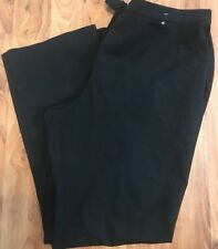 Ladies Smart BlackTrousers From Marks And Spencers Vgc Euro 36 Uk 8