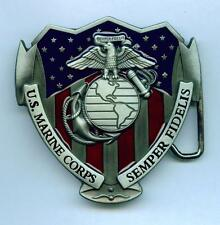 US Marines Buckle Gürtelschnalle United States Army USMC Marine Corps