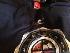 Reebok Classic Logo T-Shirt Sz XL Navy 100% Cotton Short Sleeve Crew Neck Tee