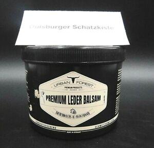 Urban Forest Premium Leder Balsam mit Bienenwachs & Avocadoöl 500ml