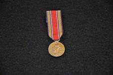 WW2 Victory Miniature Mini Medal; album / mount removed - modern production