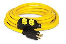 Extension Cord 25-Foot 30-Amp 125/250-Volt Emergency Shed Food Truck Generator