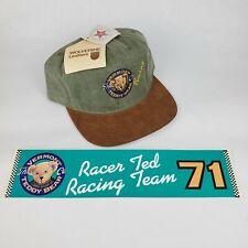 Vermont Teddy Bear Co. Racing #71 Hat & Bumper Sticker
