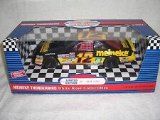 1/18 #12 JIMMY SPENCER 1993 MEINEKE TBIRD NASCAR WHITE ROSE DIECAST CAR-MIB