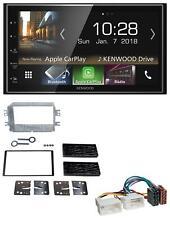 Kenwood 2DIN MP3 AUX USB Bluetooth Autoradio für Kia Carens 3 07-13 schwarz