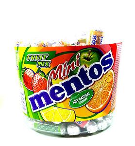 Mini Mentos Fruit Mix 120 x 10,5g.