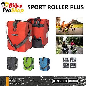 ORTLIEB Sport Roller PLUS (Pair) - Bike Bicycle Panniers Bags WATERPROOF GER 21
