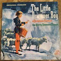 THE LITTLE DRUMMER BOY HARRY SIMEONE CHORALE VINYL LP 20th CENTURY EXC W/SHRINK