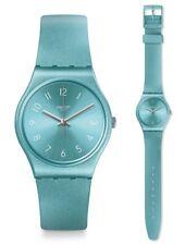 Swatch So Blue Uhr GS160 Analog  Silikon Türkis
