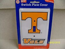University of Tennessee Volunteers, Vols NCAA football single light switch cover