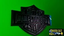 BLACK HARLEY DAVIDSON BADGE EMBLEM ORNAMENT FORD TRUCK F-150 F-250 F-350 NEW