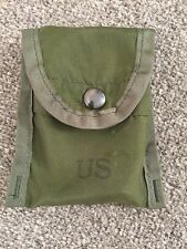 US ARMY M1967 MLCE First Aid Dressing Bandage Pouch 1975 - Vietnam ALICE Webbing