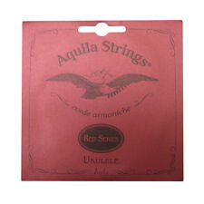 Cuerdas Ukelele Aquila Nylgut-Rojo Serie-tenor bajo G - 88U-Sonido Superior