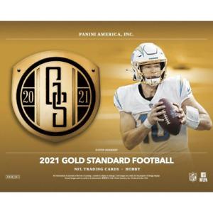 Alan Faneca 2021 GOLD STANDARD FOOTBALL 24 BOX 2 FULL CASE PLAYER BREAK