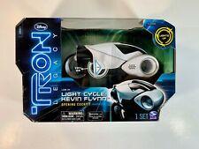 Disney Tron Legacy Light Cycle Kevin Flynn Opening Cockpit Nib 2010 Lights Up