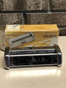 Marcato Pasta spaghetti cutter attachment Steel Italy