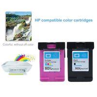 2 Ink for HP 63XL B+C Deskjet 2130 2131 3630 3632 ENVY 4520 Officejet 3830 GV
