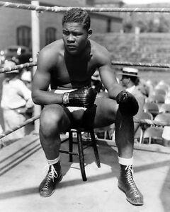 1935 Boxer JOE LOUIS Glossy 8x10 Photo Heavyweight Champion Print Training