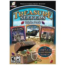 Video Game PC Treasure Seekers Triple Pack Visions of Gold Follow the Ghosts