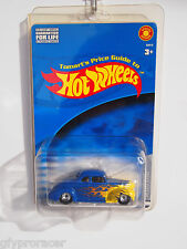 2002 Hot Wheels Tomart's Price Guide '40 Ford Coupe Blue Special Edition