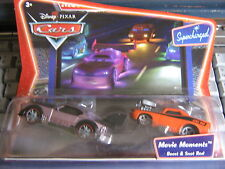 DISNEY PIXAR CARS BOOST & SNOT ROD MOVIE MOMENTS SUPERCHARGED