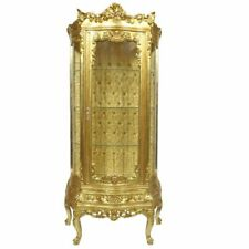 CASE BAROQUE STYLE GOLD GLASS CASE  #MB65