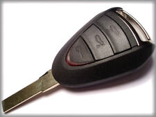 QUALITY 3 BUTTON REMOTE KEY CASE for PORSCHE BOXSTER CAYMAN 987, 2005-2012