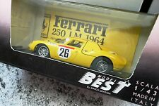 FERRRARI 250 LM 1964 - modello scala 1:43 MODEL BEST