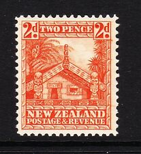 NEW ZEALAND 1936-42 2d ORANGE PERF.14 SG 580c MINT.