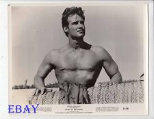 Steve Reeves barechested VINTAGE Photo Thief Of Baghdad