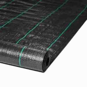 Heavy Duty Weed Control Fabric Ground Cover Garden Landscape Membrane 1M,2M,4M