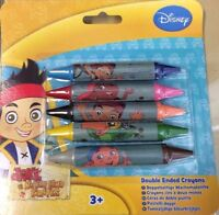 DOUBLE ENDED CRAYONS Jake & The Neverland Pirates KIDS CHILDREN TOY CRAFT DISNEY