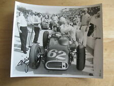 1960 Indy 500's Eddie Russo Signed 8x10 Photo