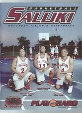 2001-02 Southern Illinois Salukis Men's Basketball Media Guide Yearbook