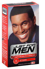 Just for Men Shampoo-in Hair Color Jet Black # H-60 1 Application Men's Skincare