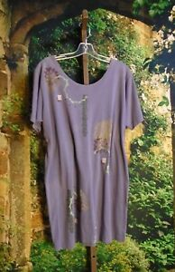 Vintage Blue Fish Rare Colored Frenchtown Tunic