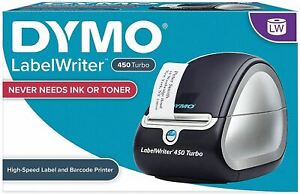 DYMO Label Printer | LabelWriter 450 Direct Thermal Label Printer, Great for Lab