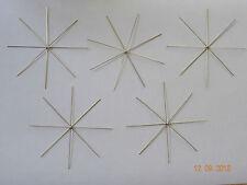 Perlensterne Draht Sterne 20 teilig Perlen Drahtsterne Set Kugel