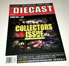 New The Diecast Magazine USA No.1 Oct. 2008 Collectors Issue Cars