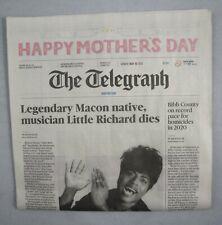 Little Richard Dies Death Telegraph Macon Hometown Newspaper Sunday May 10 2020