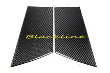 For 09~17 370Z Z34 Carbon Fiber Door Trim Pillar Panel Cover Nissan 370 Z Coupe