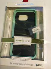 CASE-MATE TOUGH STAND Protector Case Samsung Galaxy S6 Edge Black/Teal CM032578