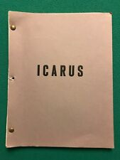 """ICARUS"" Unproduced MGM Movie 1980 Military Film Memos & Screenplay Notes"