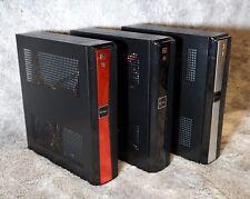 Mini-ITX Computer Case, RED - HTPC Media Plex Slim POS Micro-ATX - NIB -Realan