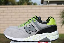 NEW BALANCE 572 SZ 9.5 ELITE EDITION MRT572GG HALLOWEEN PACK GREY NEON GREEN