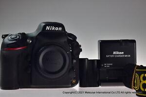 ** Near MINT ** NIKON D800E 36.3MP Digital Camera Body Shutter Count 16488