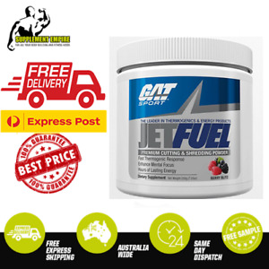 GAT JETFUEL FAT BURNER THERMOGENIC OXYSHRED WEIGHT LOSS SHRED